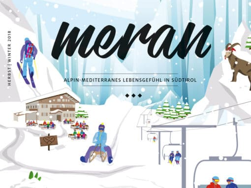 Cover Meran Magazin / DIE ZEIT